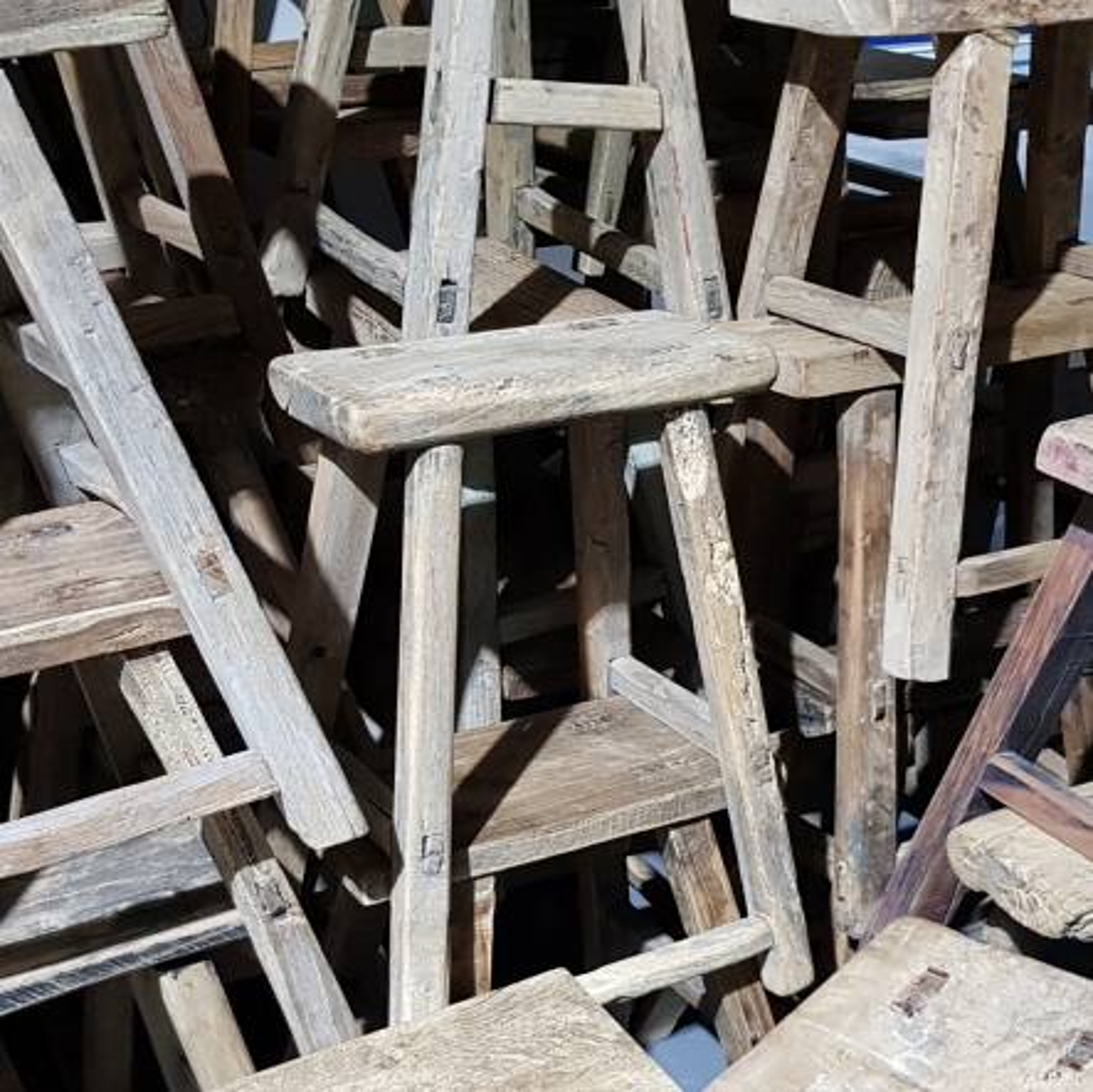 Charme van oud hout